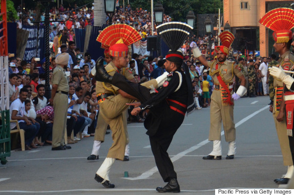 india pakistan wagah