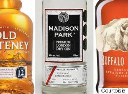 Scotch, rhum, cognac et autres spiritueux