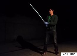 Stop Everything, This Guy Has Built The Closest Thing To A Real Lightsaber