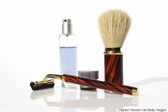 men shaving kit