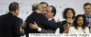 COP21 FABIUS HOLLANDE