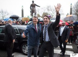 Trudeau First PM To Visit Vancouver City Hall Since His Father