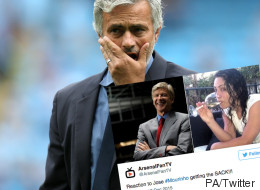 Jose Mourinho's Sacking Provokes Searing Response From The Internet