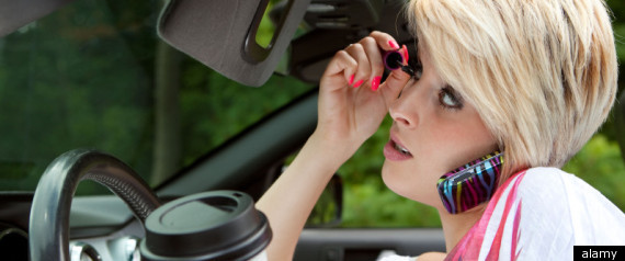 Distracted Driving: Did You Learn It From Your Parents?