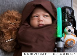 Star Wars Fan Mark Zuckerberg Proves His Daughter Is Really A Jedi