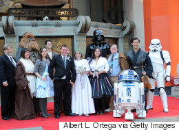 Couple Marry At Cinema In Star Wars-Themed Wedding