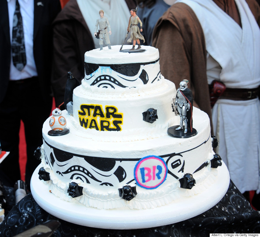 Star Wars Wedding Cake: Star Wars Wedding: Couple Marry On Film's Opening Day With