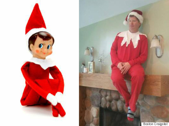 Real Life 'Elf On The Shelf' Charges $100 Per Hour To Sit At ...
