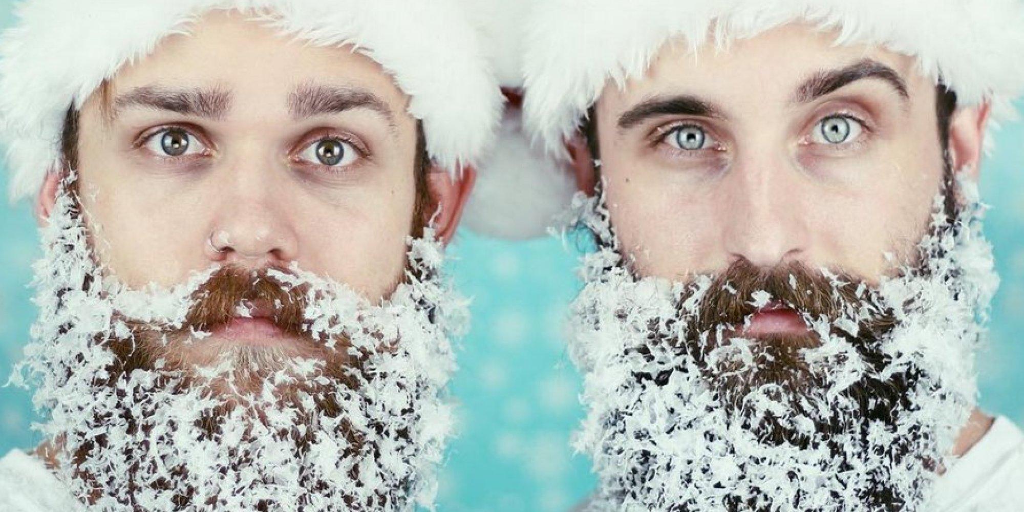 Festive Beard Art From Glitter To Tinsel The 12 Beards