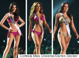 El desfile HOT de las candidatas latinas a Miss Universo