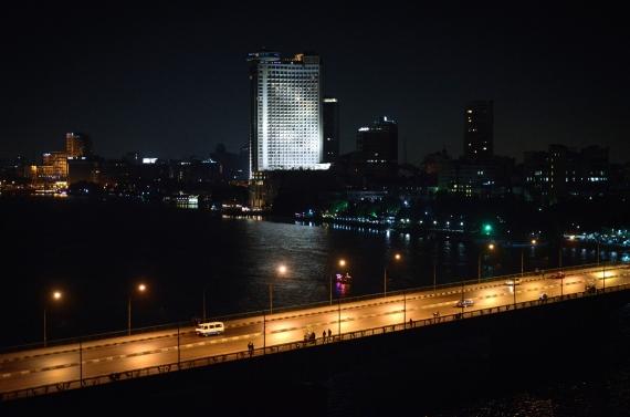 nile cairo university bridge