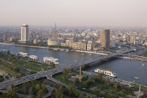 nile cairo bridge