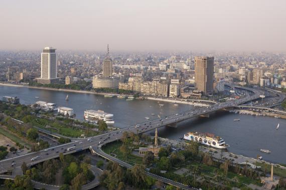 nile cairo bridge