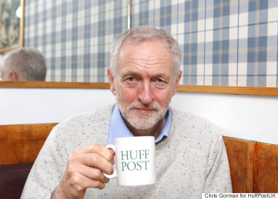 jezza with huffpost mug