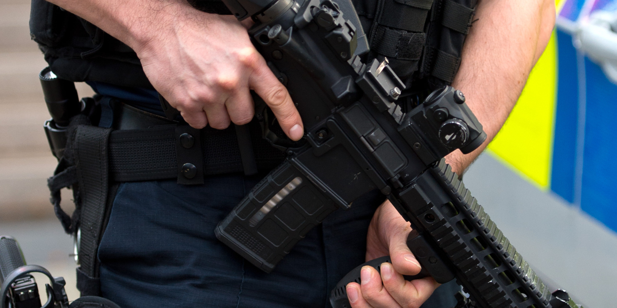Firearms used on only 7 occasions by British police over 12 month period