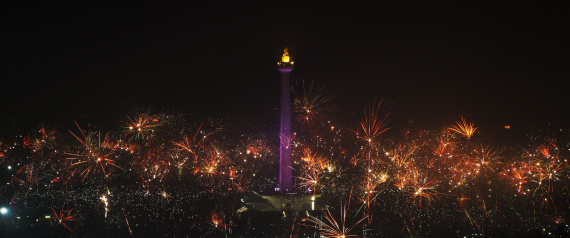 NEW YEAR 2015 INDONESIA
