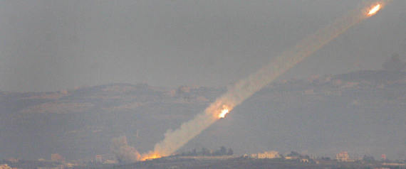 SOUTH LEBANON KATYUSHA ROCKETS