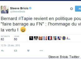 Sur Twitter, le FN se moque du retour de Tapie