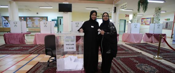WOMEN IN SAUDI ARABIA ELECTIONS