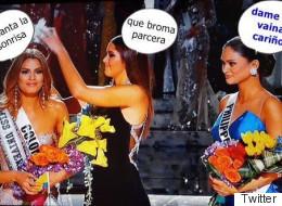 Memes y burlas por error en Miss Universo