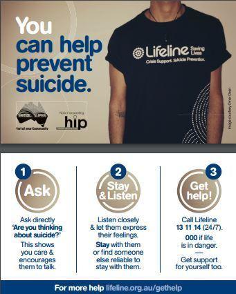lifeline suicide