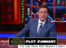 Stephen Colbert Explains The Original 'Star Wars' Trilogy For People Who Haven't Seen It