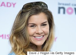 Imogen Thomas Heartbroken By Father's Death