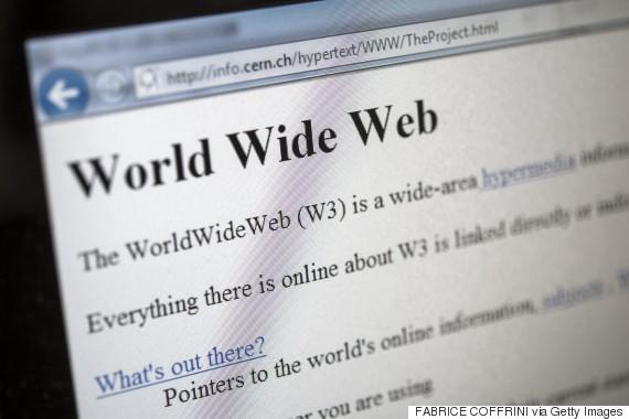world first website