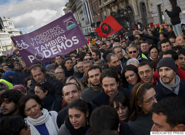 spain protests podemos