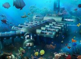 Cet hôtel sous-marin pourra se déplacer tout seul