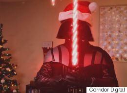 Darth Vader Makes A Terrible Father Christmas