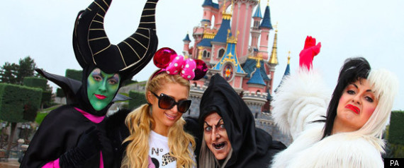 PARIS HILTON DISNEY