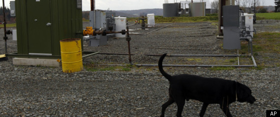DIMOCK PENNSYLVANIA FRACKING NATURAL GAS