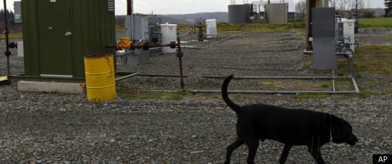 DIMOCK PENNSYLVANIA FRACKING NATURAL GAS
