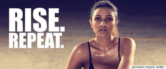 parineeti chopra workout photos