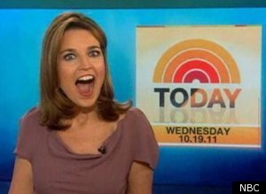 Savannah guthrie in a bathing suit.