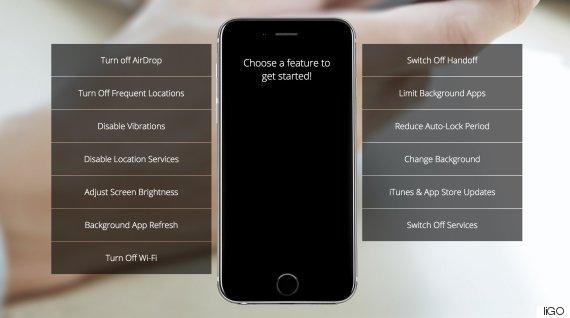 battery life smartphone