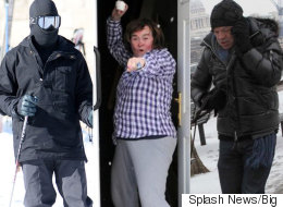 These Pictures Of Celebrities In The Snow Prove They're All Human After All