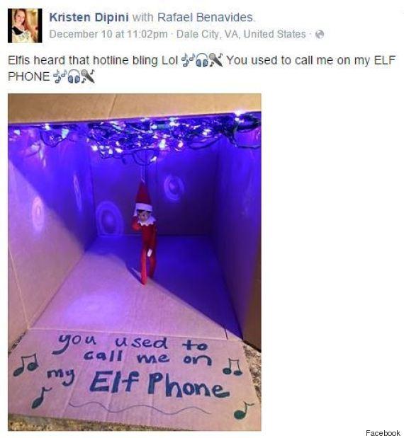 hotline bling elf