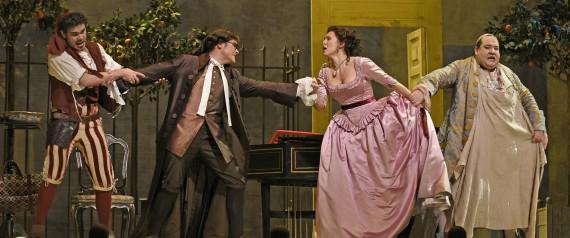 Barber Of Seville Figaro : Met Opera: A Sparkling