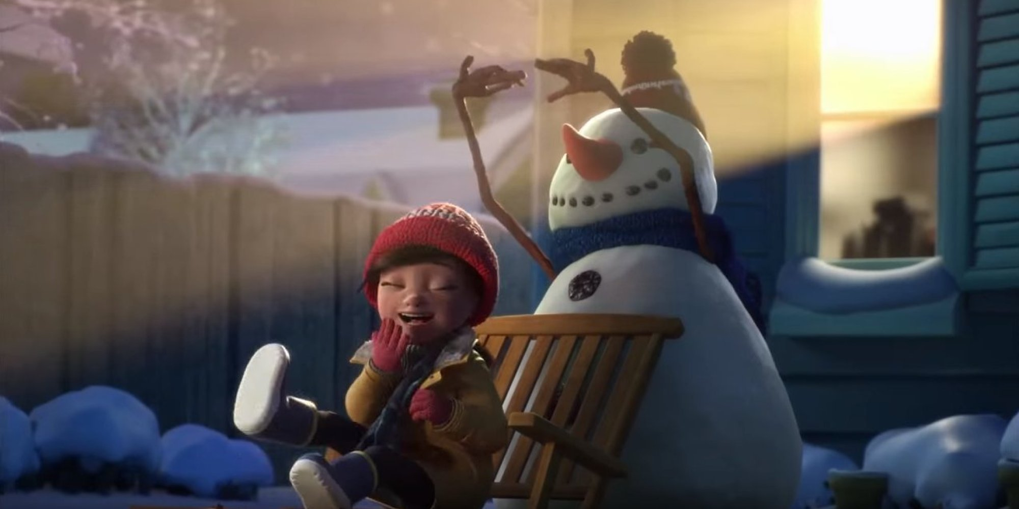 Lily And The Snowman A Touching Christmas Short Made
