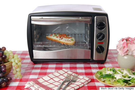 toaster oven pizza