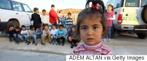 syria refugees children