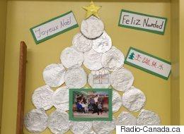 Noël en classe d'accueil, une occasion de partage culturel (VIDÉO)