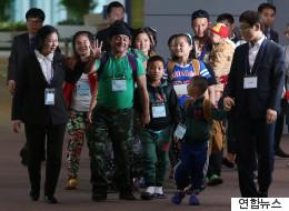 '제1호 재정착' 미얀마 난민 22명이 한국에 도착했다(화보)