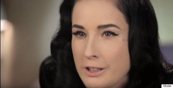 Dita Von Teese Lipstick Tutorial: The Burlesque Performer's 3 ...