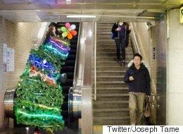 Voici pourquoi il faut vous habiller en arbre de Noël pour les Fêtes (PHOTOS)