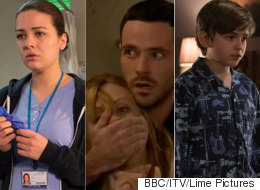 The Most Shocking Soap Moments Of 2015