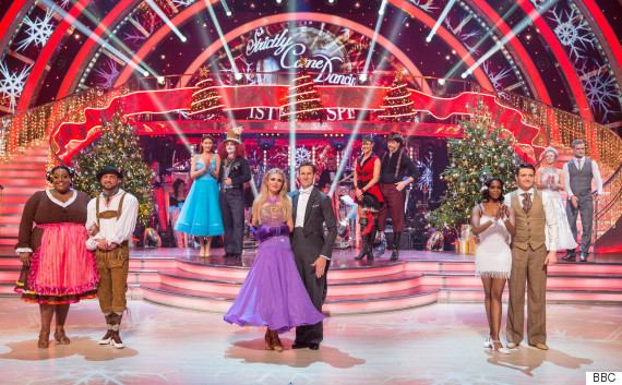 strictly come dancing christmas special 2015