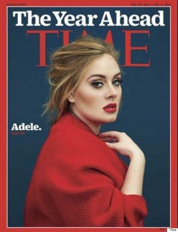 adele time magazine